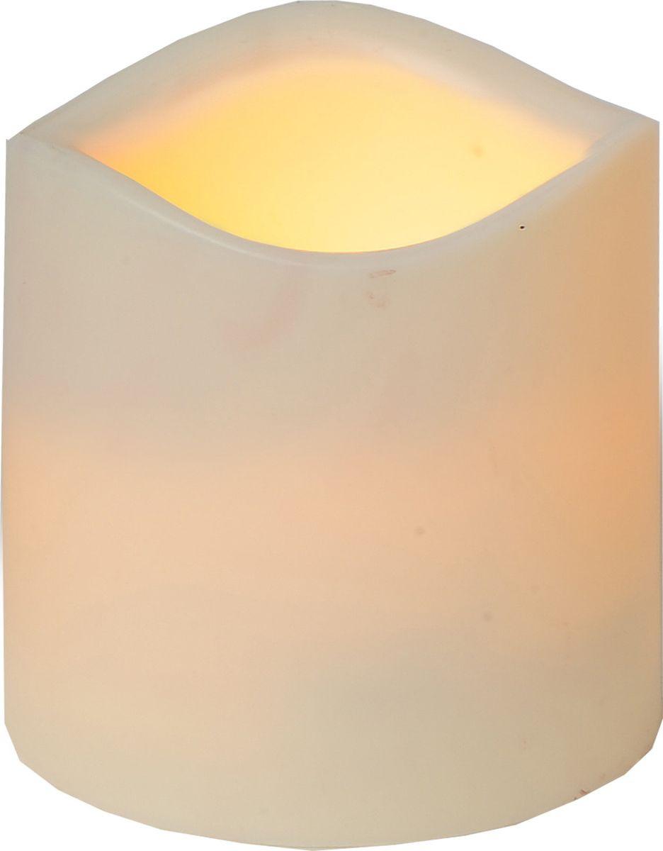 Свеча декоративная LED Star Trading Сandle Plastic, 067-27, бежевый, 7,5 см светодиодная свеча star trading glow wax beige 068 83
