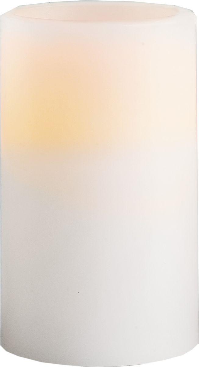 Свеча декоративная LED Star Trading, 066-33, белый, 12,5 см светодиодная свеча star trading glow wax beige 068 83
