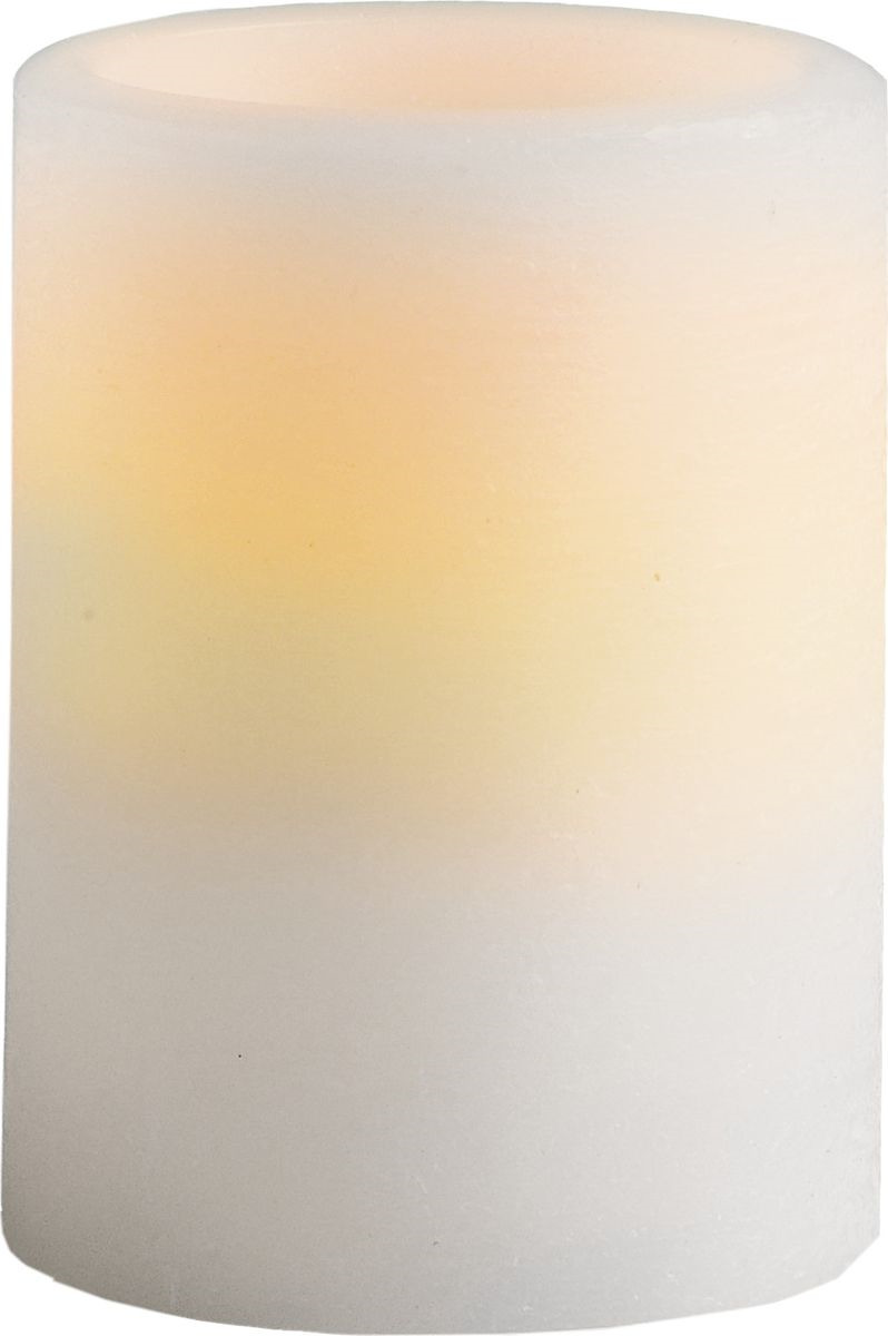 Свеча декоративная LED Star Trading, 066-32, белый, 10 см светодиодная свеча star trading glow wax beige 068 83