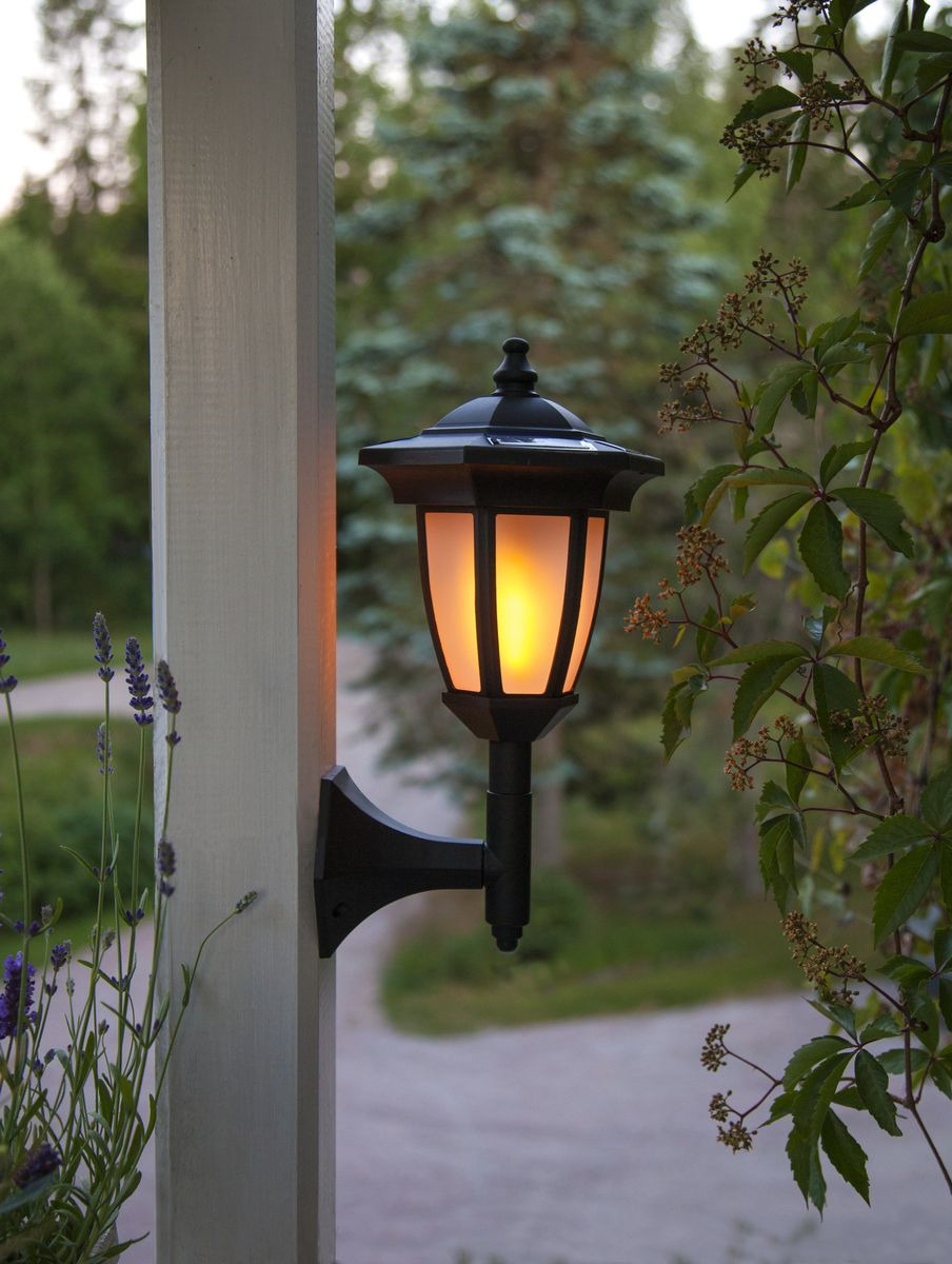 Фото садовых фонарей на лоджии