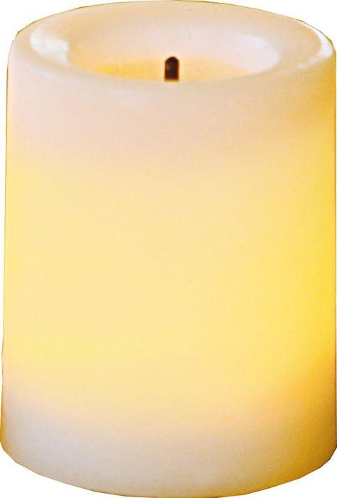 Свеча декоративная LED Star Trading T-Light, 068-17, белый, 4,5 см, 2 шт светодиодная свеча star trading glow wax beige 068 83