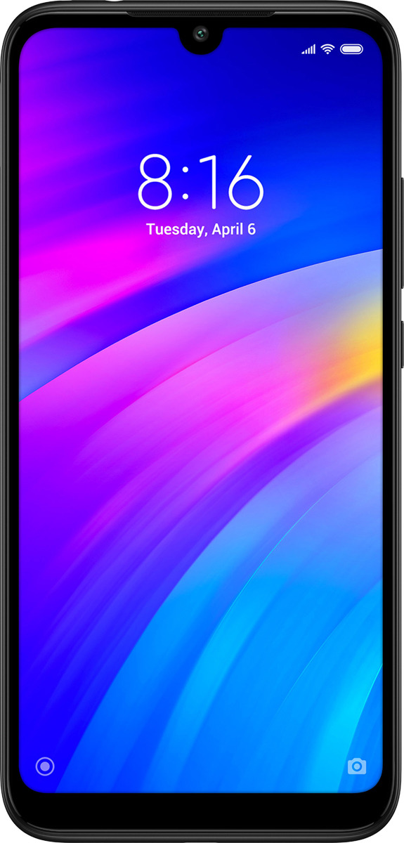Смартфон Xiaomi Redmi 7 3/32GB, черный