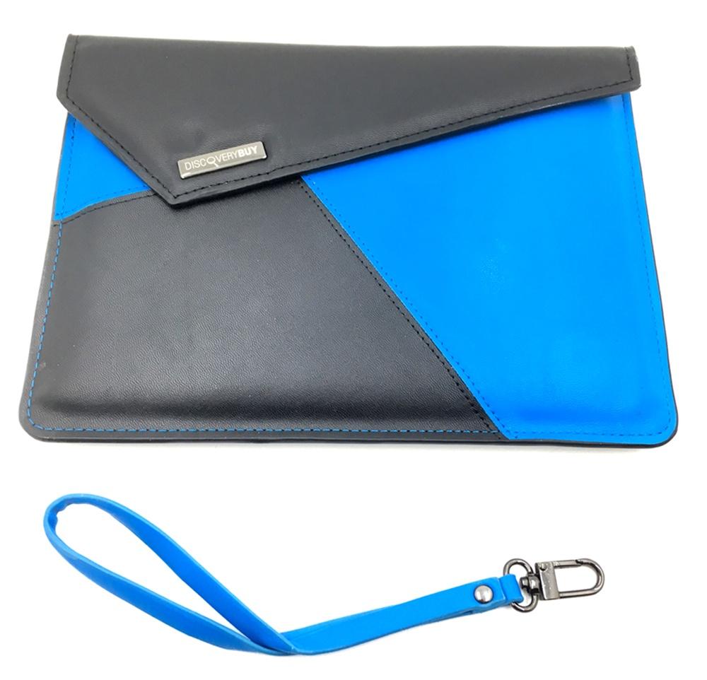 Чехол для планшета Мобильная мода Чехол-клатч универсальный 8 дюймов DiscoveryBuy, черный цена и фото