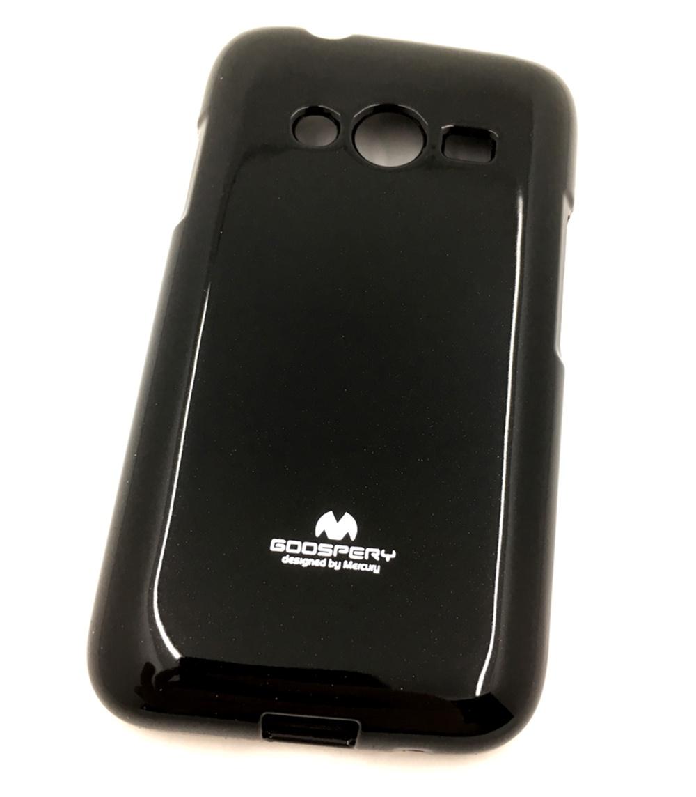 Чехол для сотового телефона Мобильная мода Samsung Ace 4 Lite G313H Накладка силиконовая ламинированная пленкой Jelly Case, черный чехол для сотового телефона мобильная мода samsung grand prime g530 j2 prime накладка силиконовая jelly case