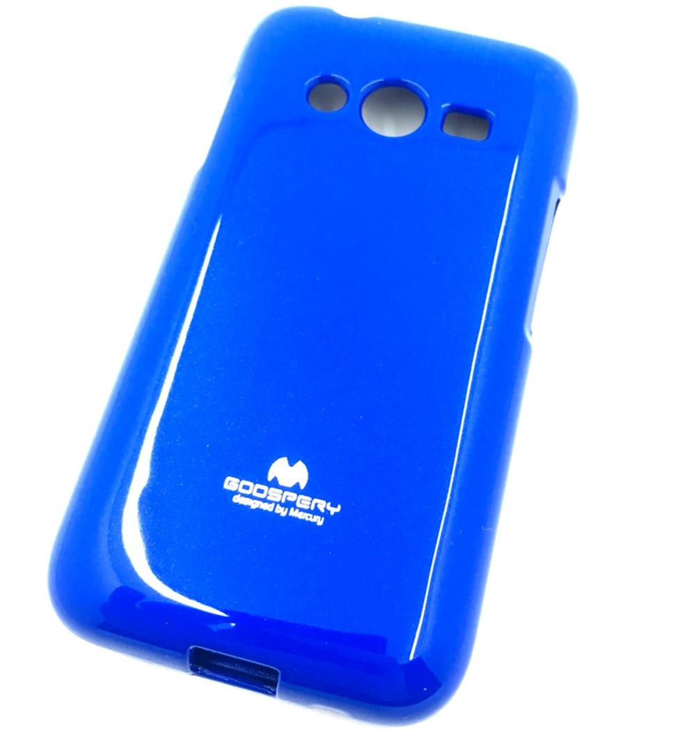 Чехол для сотового телефона Мобильная мода Samsung Ace 4 Lite G313H Накладка силиконовая ламинированная пленкой Jelly Case, синий чехол для сотового телефона мобильная мода samsung grand prime g530 j2 prime накладка силиконовая jelly case