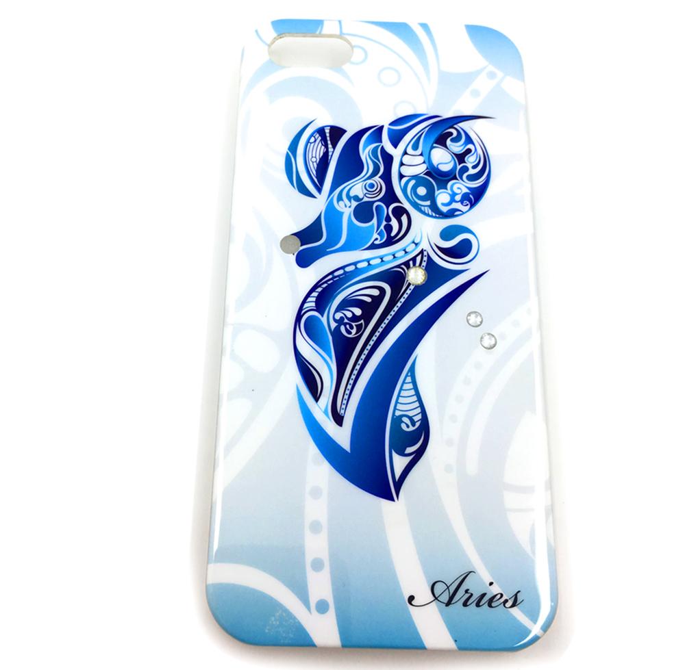 Чехол для сотового телефона Мобильная мода iPhone 5/SE Накладка пластиковая Знаки зодиака со стразами wight angel весы знаки зодиака