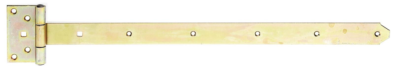 Петля для ворот, Gah Alberts, Т-образная оцинкованная 600x40 мм петля дверная gah alberts 310714