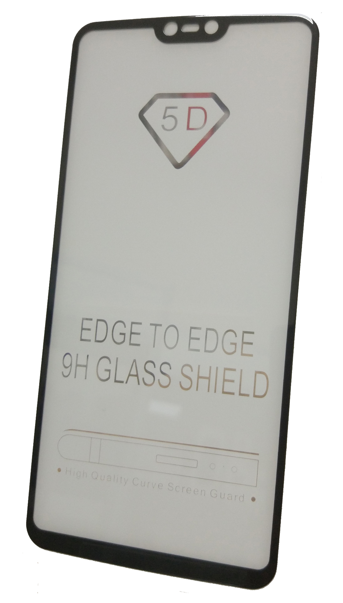 Защитное стекло Oneplus 6 (черная рамка) gangxun oneplus 6