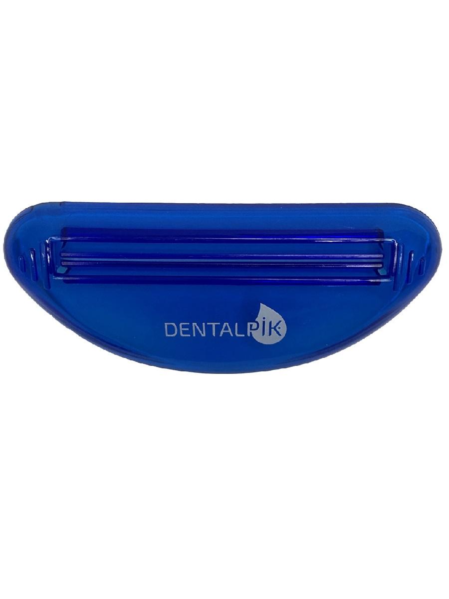 Выдавливатель для зубной пасты Dentalpik, синий крест крест 3d hyun бай бин электрод мяты зубной пасты 180 г