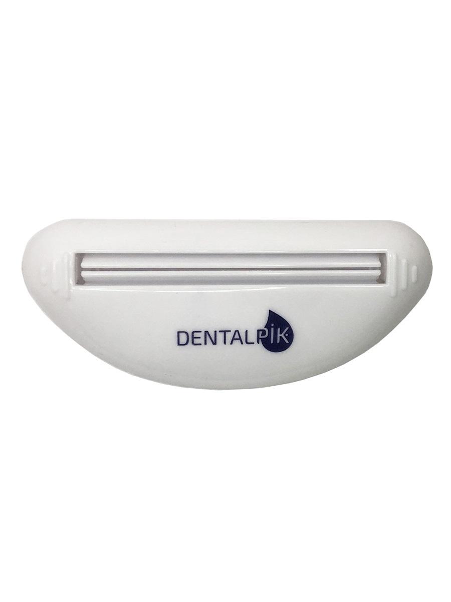Фото - Выдавливатель для зубной пасты Dentalpik, белый пресс для зубной пасты на присоске мультидом da34 87