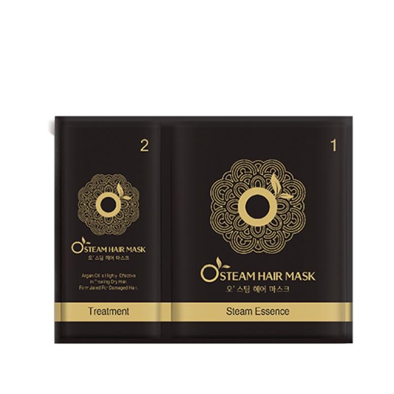 Маска для волос Moran O Steam Hair Mask двухступенчатая согревающая от выпадения 25мл