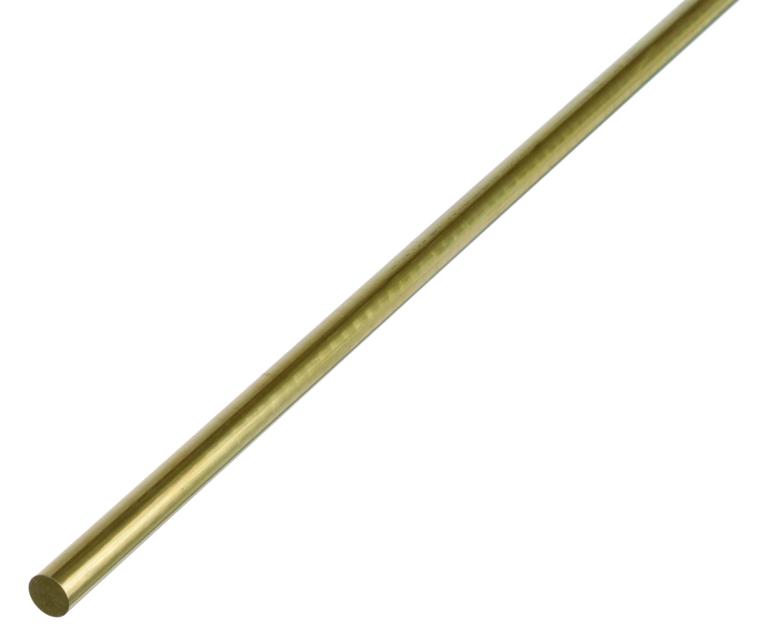 Латунный пруток, Gah Alberts, круглый, 4х1000 мм