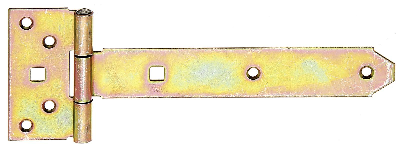 Петля для ворот,Gah Alberts, Т-образная оцинкованная 195 х 34 мм петля дверная gah alberts 310714