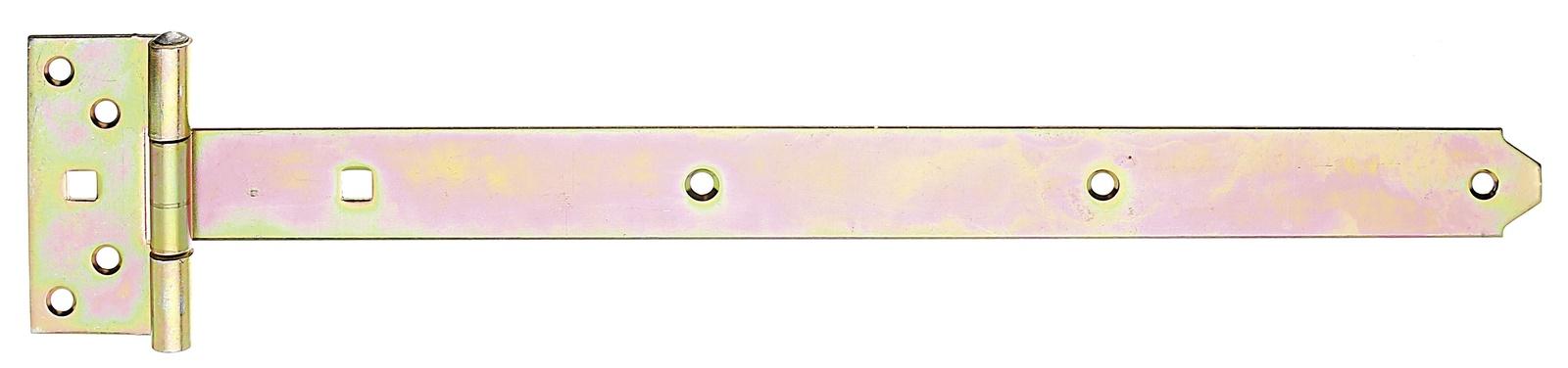 Петля для ворот,Gah Alberts, Т-образная оцинкованная 395x34 мм петля дверная gah alberts 310714