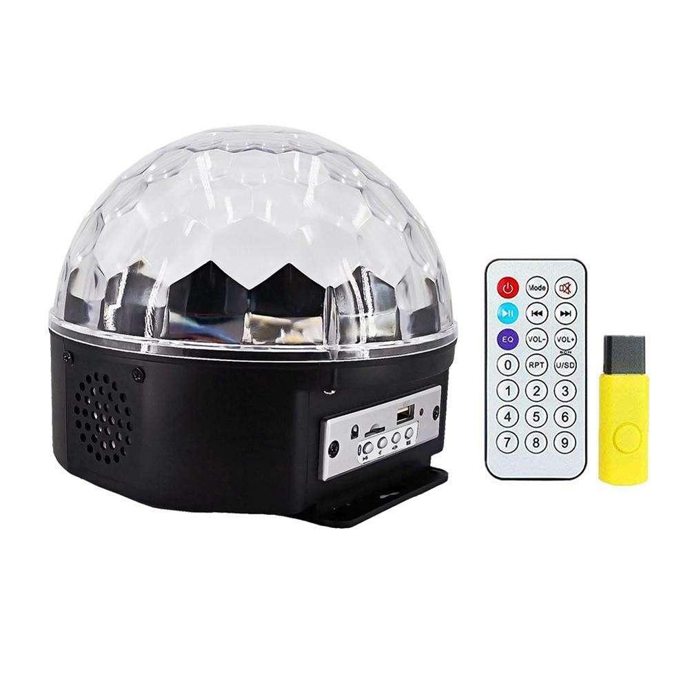 Декоративный светильник Дискошар с Bluetooth LED Magic Ball Light BT, 30 Вт диско шар 8 см