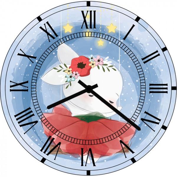 Настенные часы Kids Dream 40011224001122Настенные часы для детской. Механизм: Кварцевый; Корпус: Дерево; Размер: Диаметр 40 см;Рисунок: Анимэ