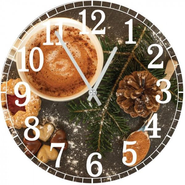 Настенные часы Kitch Interier 4001314 фонтан напольный interier ex 44х110 см восточные мотивы ф336 кор