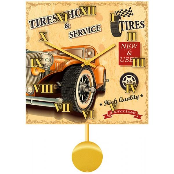 Фото - Настенные часы Kitch Clock 3011592 авто