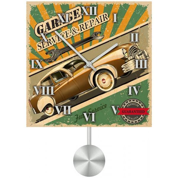 Фото - Настенные часы Kitch Clock 3011594 авто