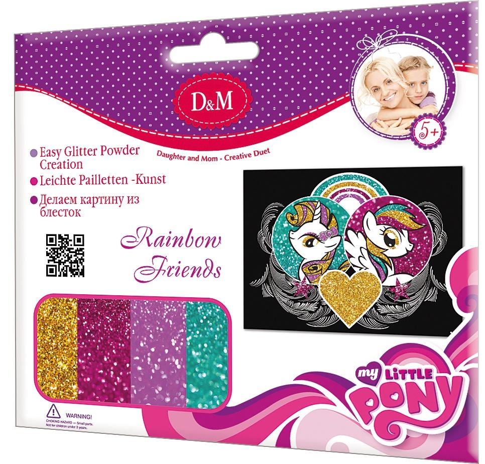 Папертоль Делай с Мамой Радужные друзья делай с мамой набор шьем игрушку зайчонок робби делай с мамой