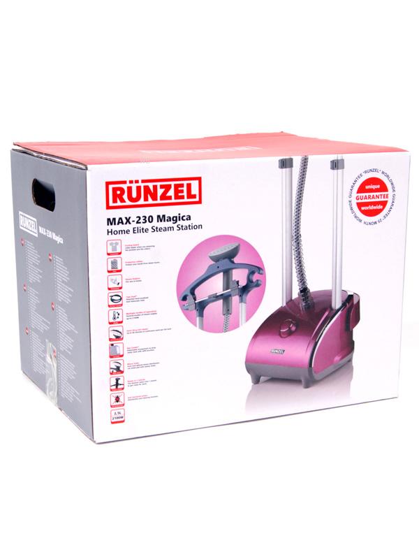 Отпариватель RUNZEL MAX-230 Magica, золотой, фиолетовый RUNZEL