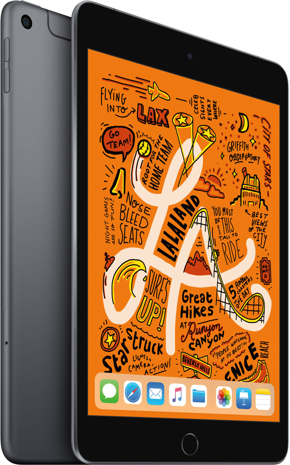 "Планшет Apple iPad mini 7,9"" Wi-Fi + Cellular (2019), 256 ГБ, серый космос"