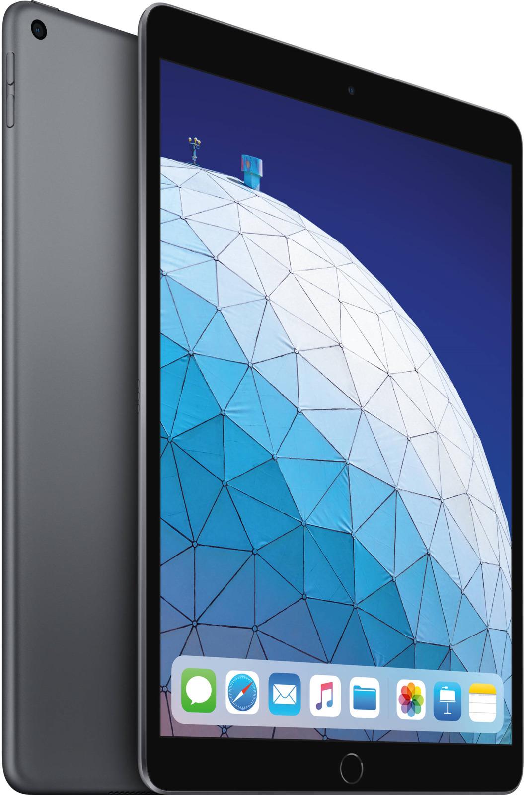 Планшет Apple iPadAir 10.5 Wi-Fi (2019), 256 ГБ, серый космос bluetooth wireless 64 key keyboard w stand for ipad air air 2 ipad 1 2 silver