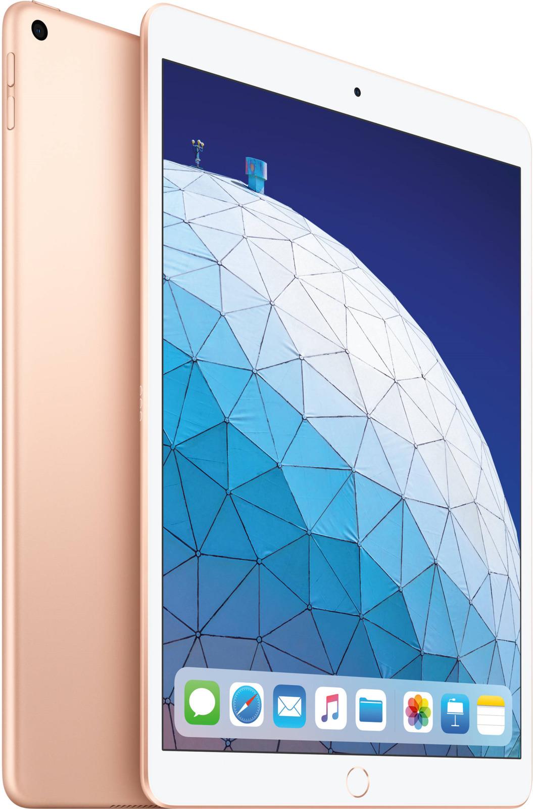 Планшет Apple iPadAir 10.5 Wi-Fi (2019), 256 ГБ, золотой bluetooth wireless 64 key keyboard w stand for ipad air air 2 ipad 1 2 silver