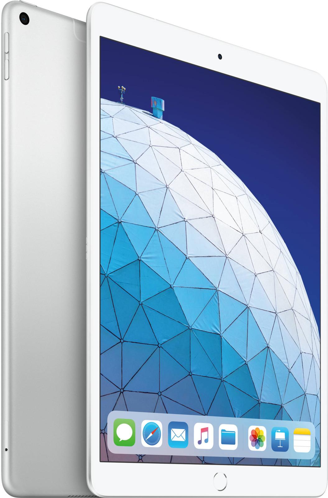 "Планшет Apple iPadAir 10.5"" Wi-Fi + Cellular (2019), 64 ГБ, серебристый"