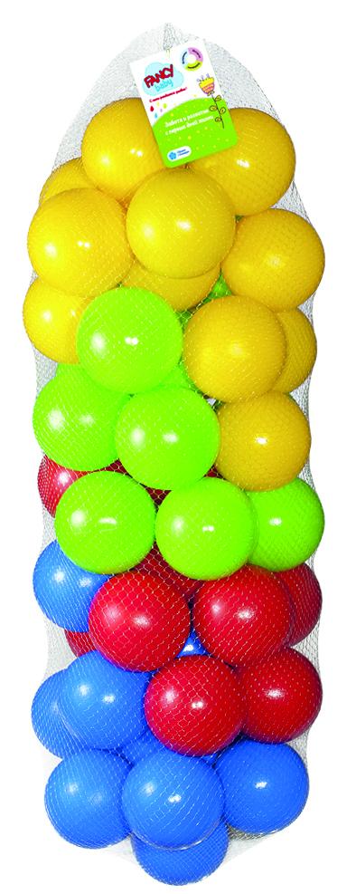шарики bony 50 шаров Шарики для бассейна Fancy SB78-50