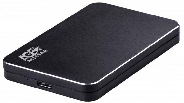 Внешний корпус для HDD AgeStar 31UB2A18, черный цена и фото