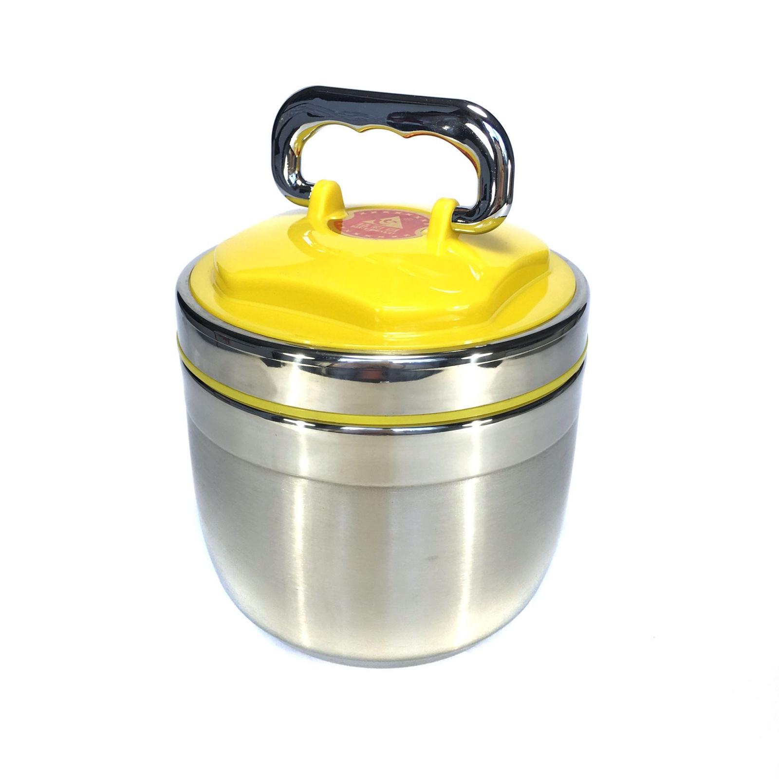 Ланч-бокс Migliores Z02403, желтый автокресло еду еду ks 513 lux с вкладышем