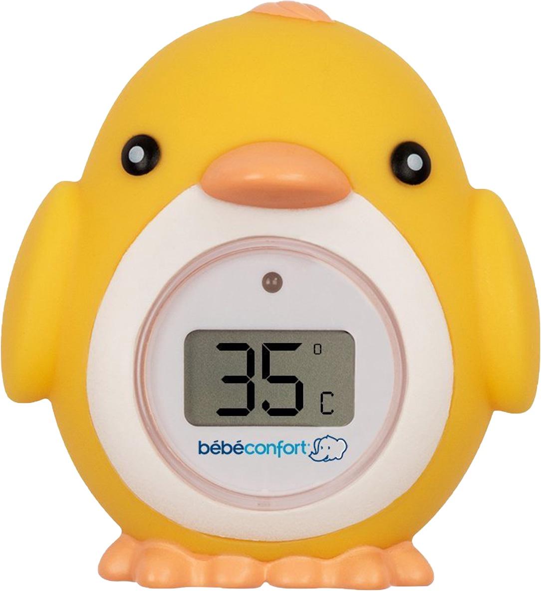 Термометр для воды Bebe Confort Цыпленок желтый цена