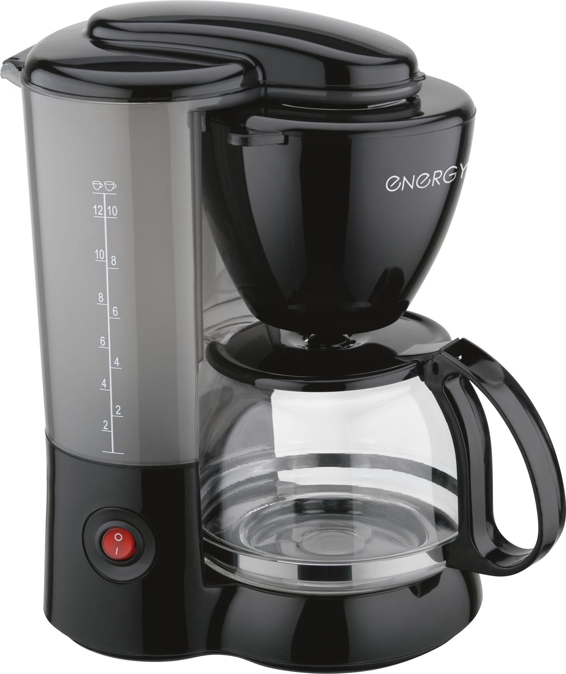 Кофеварка электрическая ENERGY EN-600, черный