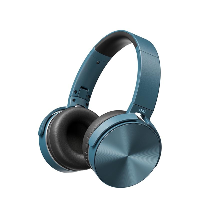 Bluetooth-гарнитура GAL BH-3009синий, синий blue string t2 turbo 2 поколения стерео музыка bluetooth гарнитура универсальная гарнитура белый