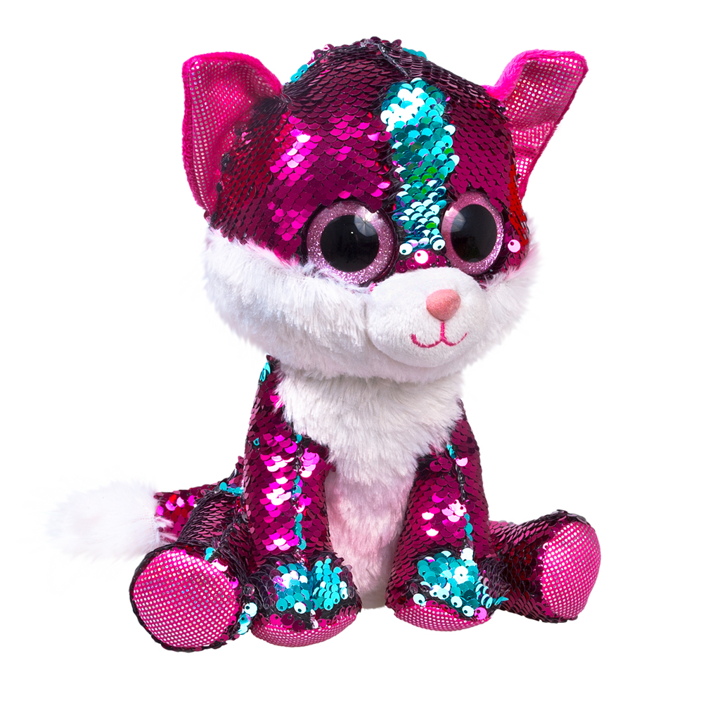 Мягкая игрушка Fancy KGL0PR розовый, бирюзовый
