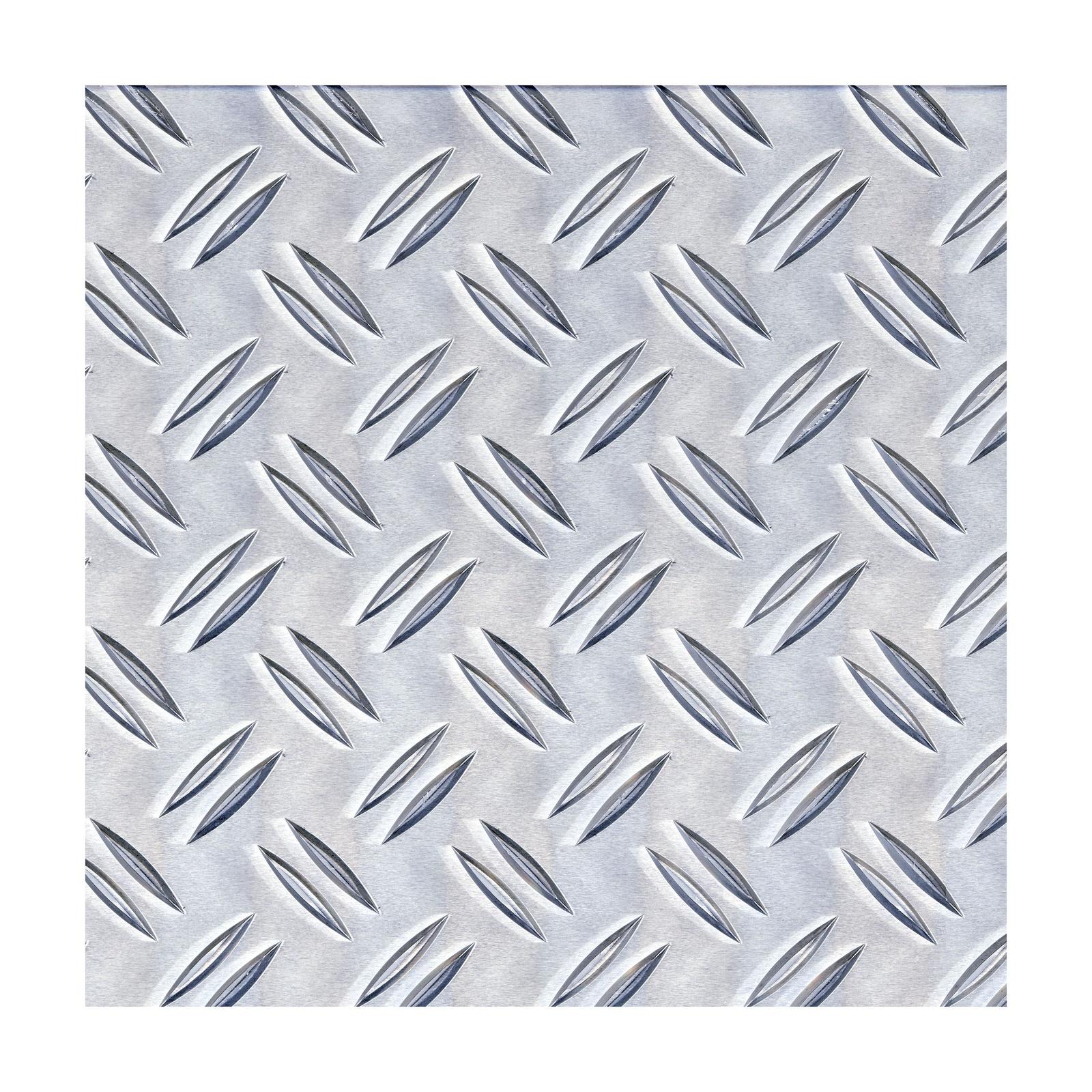 Лист алюминиевый, Gah Alberts, рельефный,зерна, 600х1000х1,5