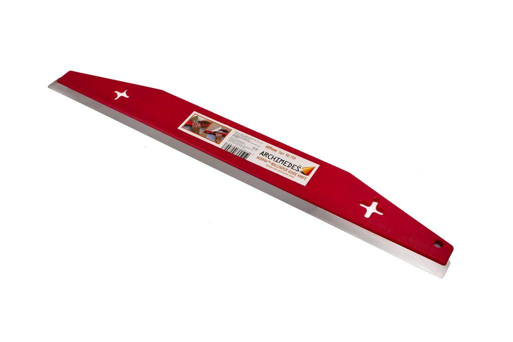 Линейка Archimedes для подрезания обоев Norma ловушка для улиток 2 шт archimedes 91813