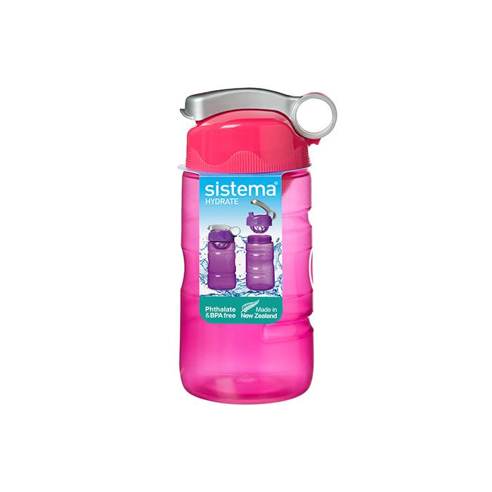 Бутылка для воды Systema 530_Красный, красный530_КрасныйИдеальное решение для активных людей и любителей спорта. Бутылка имеет крышку «флип топ» с надежно закрывающимся колпачком.Тщательное смешивание и насыщение напитка кислородом – спиральная насадка.Удобно держать в руке – специальная форма бутылки.Подходит для использования в холодильнике и морозильной камере.Можно использовать в микроволновой печи без крышки.Легко моется – можно мыть в посудомоечной машине в верхней корзине.Безопасный – не содержит бисфенол А и фталаты.Разработано и произведено в Новой Зеландии.