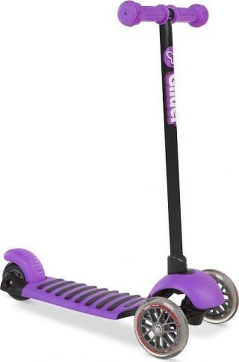 Самокат детский Yvolution Glider Deluxe, 100487, фиолетовый