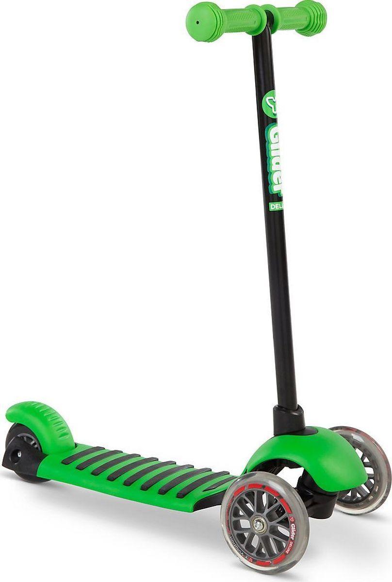 Самокат детский Yvolution Glider Deluxe, 100489, зеленый