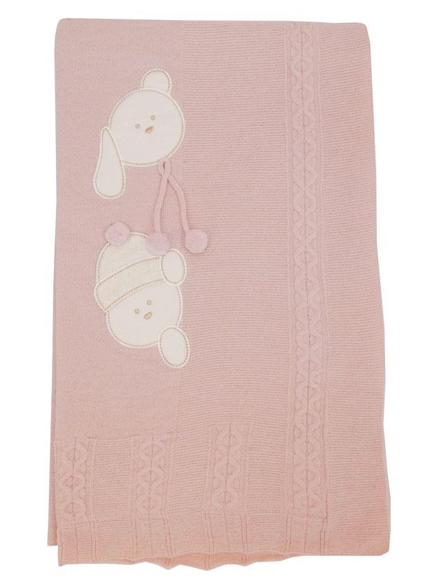 Детский плед ПАПИТТО 70-100_розовый, розовый