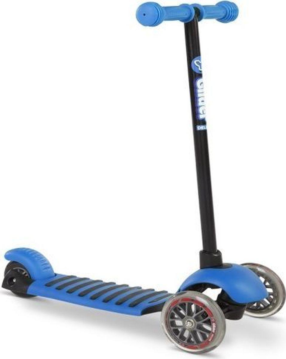 Самокат детский Yvolution Glider Deluxe, 100490, синий