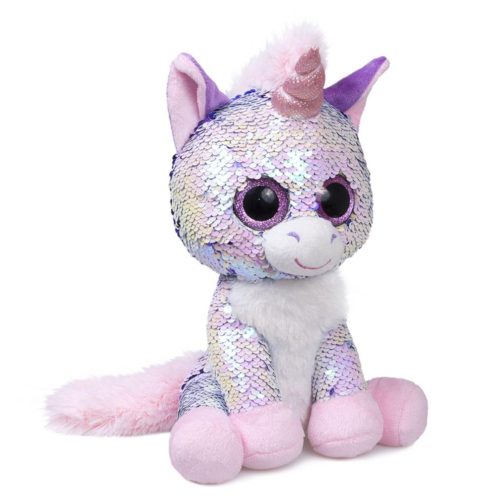 Мягкая игрушка Fancy GED0P светло-розовый, сиреневый