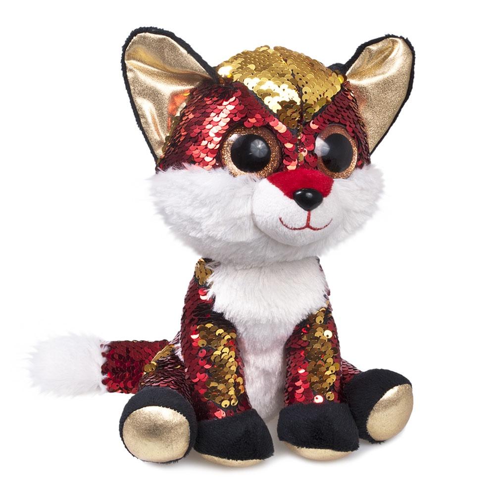 Мягкая игрушка Fancy GLN0P красный, золотой
