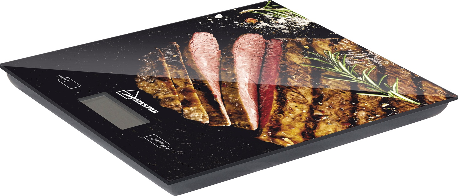 Кухонные весы HOMESTAR HS-3006 стейк, разноцветный, черный