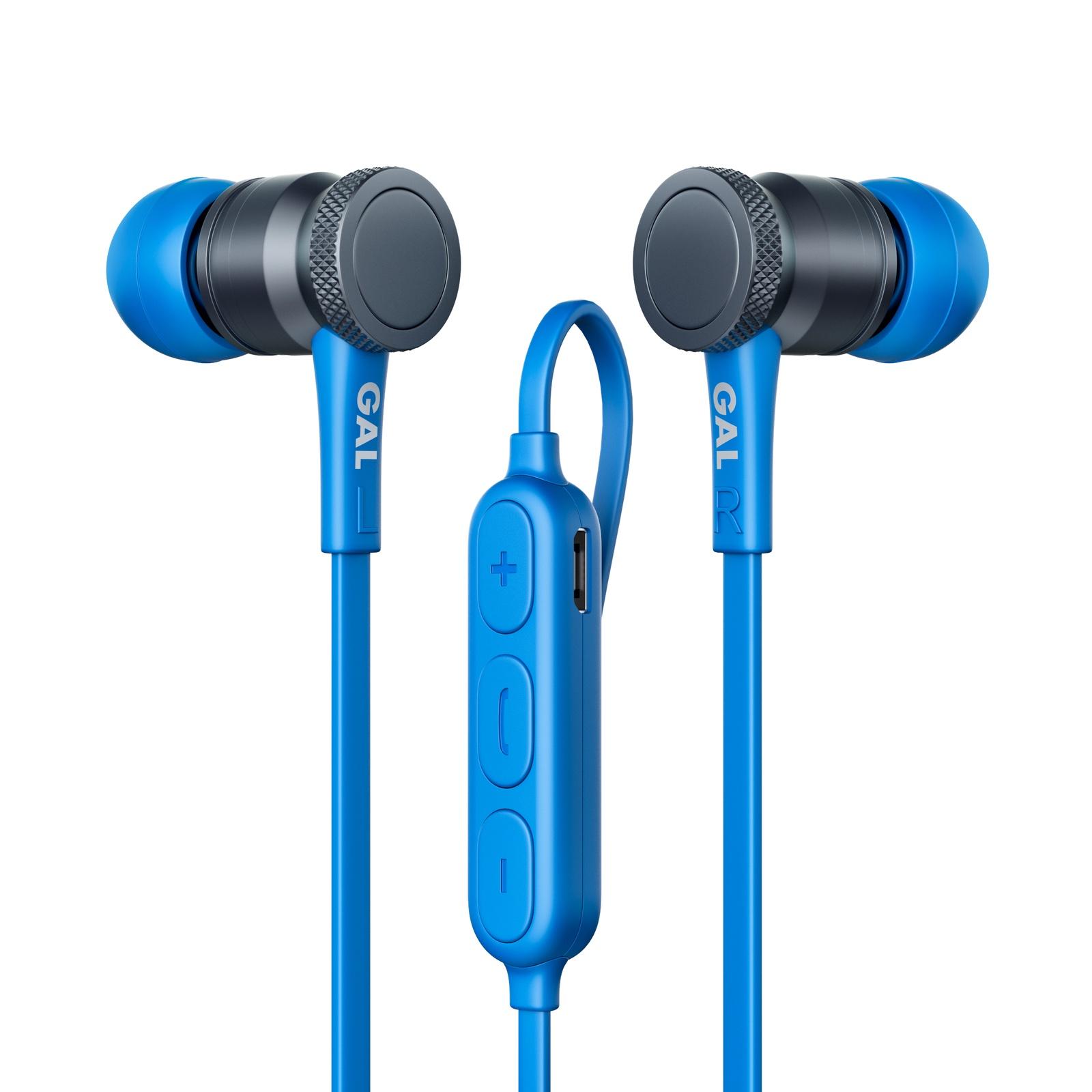 Наушники GAL BH-2004BL vjjb k4 k4s wooden super bass in ear earbuds ebony earphone diy magic sound mic super bass headset for phone ios android mp3