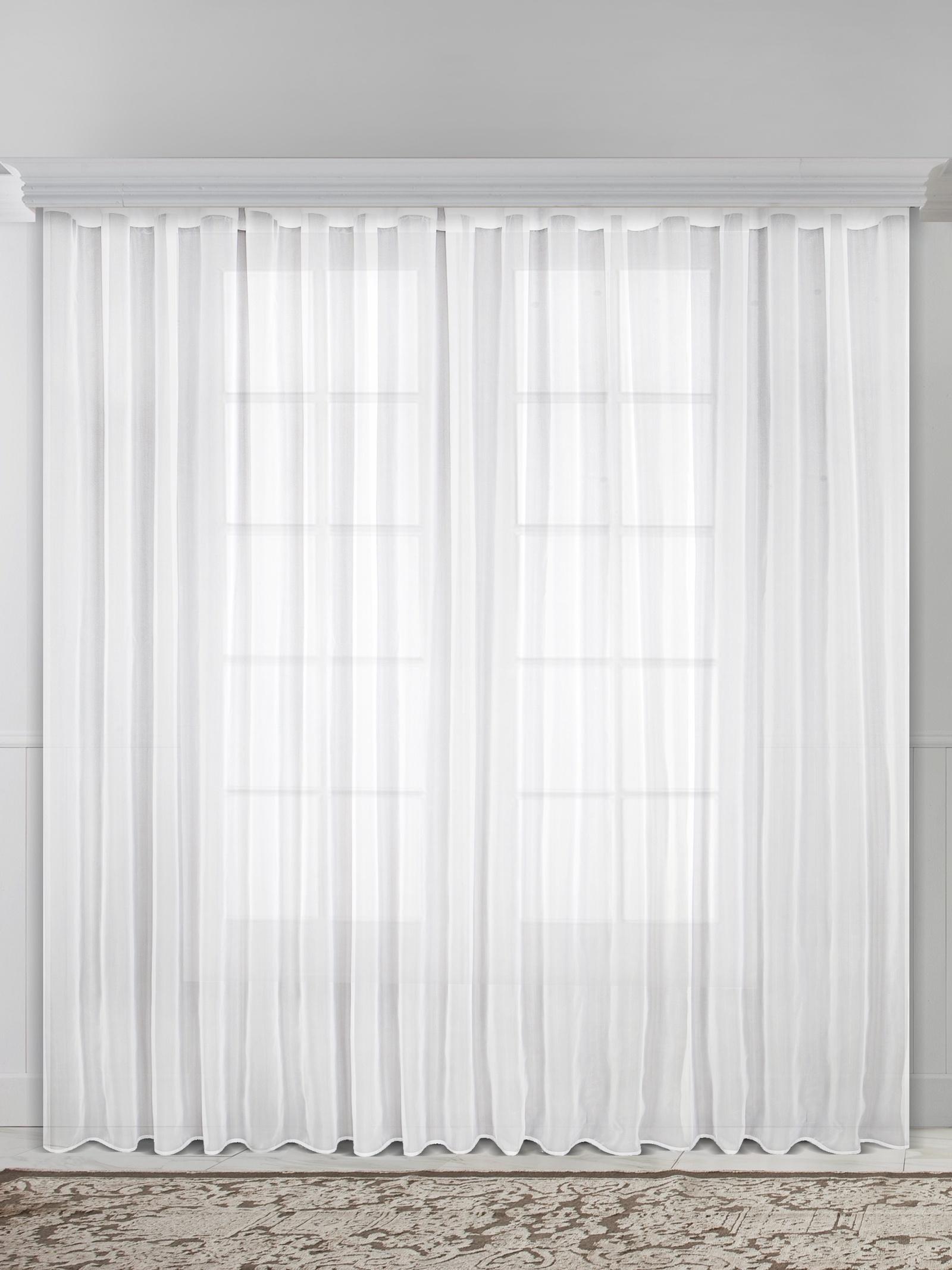 Тюль Raccolto 04544-И, белый