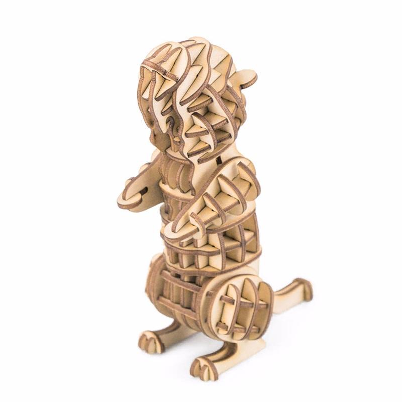 3D Пазл Robotime Деревянные 3D пазлы Marmot стоимость