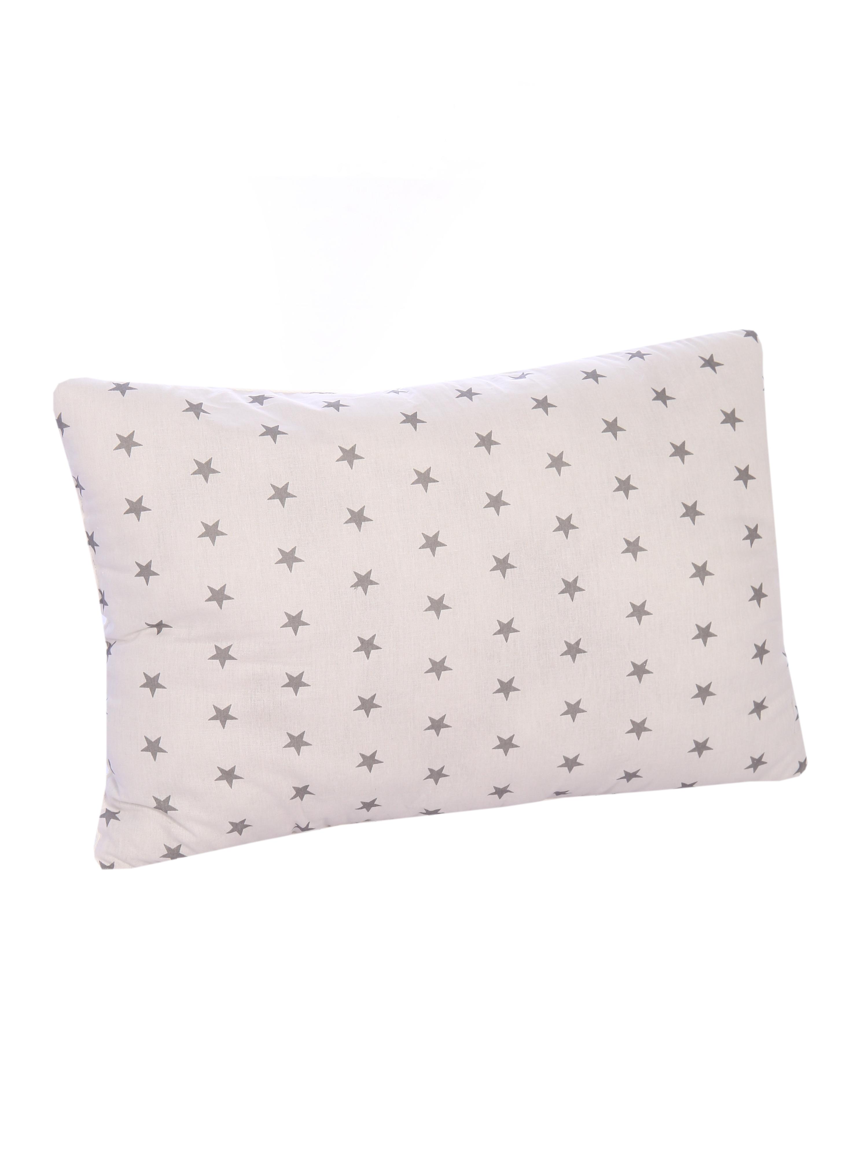 Детская подушка Спаленка П-Д-Пушинка-57/мал.сер-звезды